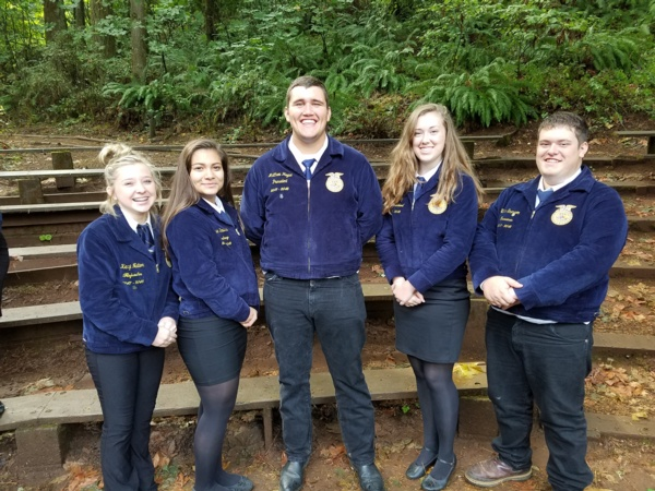 Mohawk Attends FFA Leadership Camp 2017