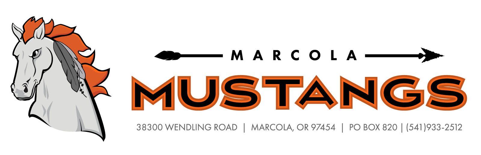 Marcola Mustangs Header